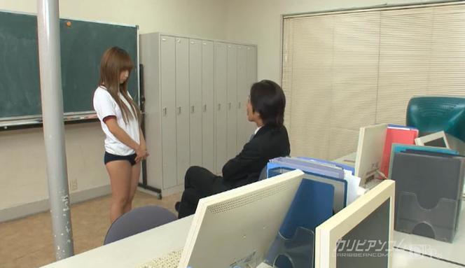เด็กนักเรียนญี่ปุ่น ทำผิดเรียกตัวมาทำโทษ กระเด้าควยชุดใหญ่