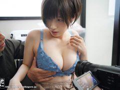 Saki Okuda ผู้กำกับนมใหญ่เคยเล่นหนังโป๊แบบทรีซัม